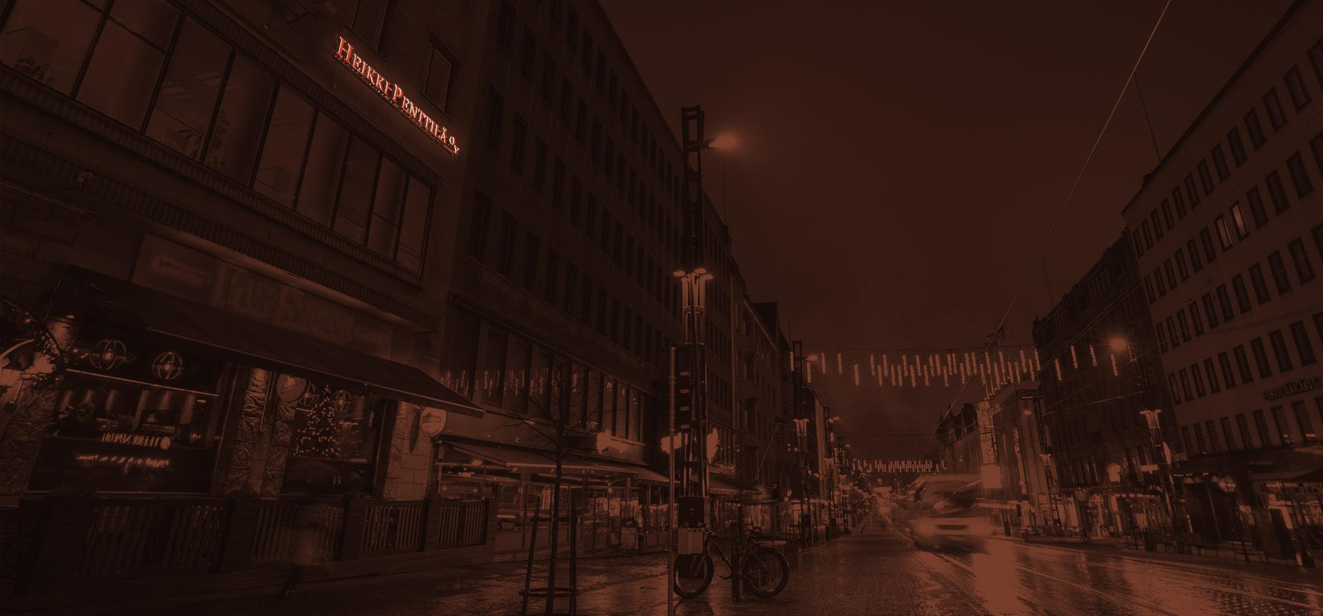 Asianajotoimisto Heikki Penttilä Oy:n toimitila Tampereen Hämeenkadulla
